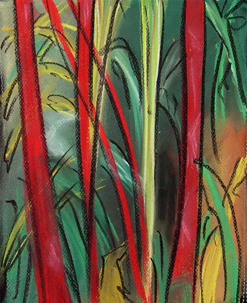 Cuadro Red bamboo