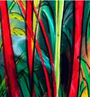 Red Bamboo - Cristina Bertrand